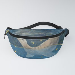 The Sea Lion's Dream - the race for food in warming oceans Fanny Pack