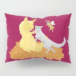 Pancake Llama Pillow Sham
