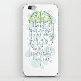 Umbrella iPhone Skin