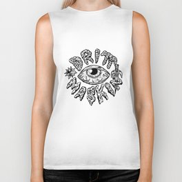 Drittmaskin - Crazy Eye & Weapons Biker Tank