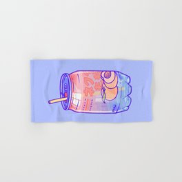 Peach Bubbles Hand & Bath Towel