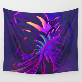 Tropical Sounds under Moon Light Wall Tapestry