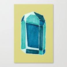 water crystal. Canvas Print