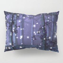 Purple Fantasy Forest Pillow Sham