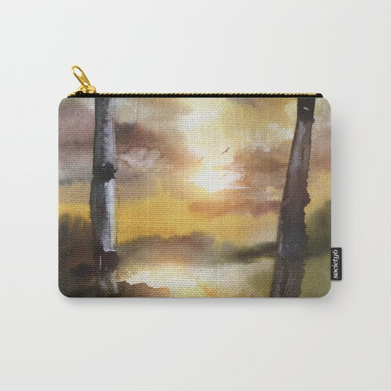 Calling The Sun XVII Carry-All Pouch