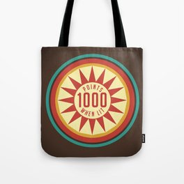 Pinball Points Tote Bag