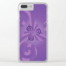 Triskelion Clear iPhone Case