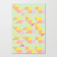 color story - candyland Canvas Print