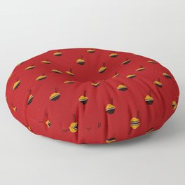 Noodles Pattern Floor Pillow