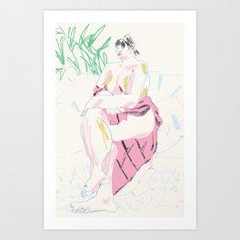 Camilla IV Art Print
