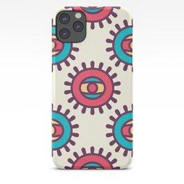 Eye In A Circle Boho Pattern iPhone Case