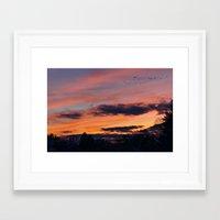 twilight Framed Art Prints featuring Twilight by Stephen Linhart