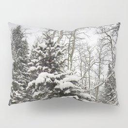 Carol M Highsmith - Snowy Pine Trees Pillow Sham