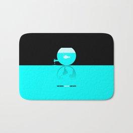 Save Water - Save Life - Save Earth Bath Mat