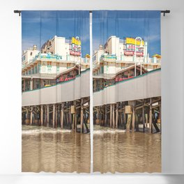Daytona Pier Joe's Crab Shack Blackout Curtain