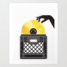 Gold Digger Art Print