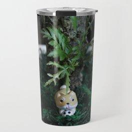 Shiba Inu Jungle Travel Mug