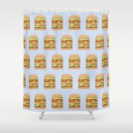 BURGER PATTERN Shower Curtain
