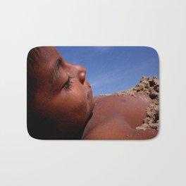 Wittos (Blue) Little Indian Sand Boy  Bath Mat