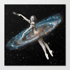 Cosmic Ballerina, Part 3 Canvas Print