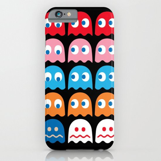 PACMAN GHOSTS iPhone & iPod Case