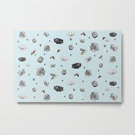 Birds of a Flower Metal Print