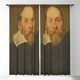 Anthony van Dyck - Portrait of a Man with a Blond Beard Blackout Curtain