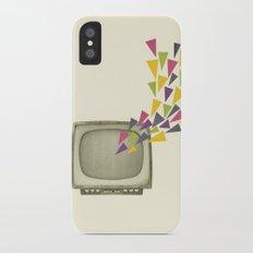 Transmission iPhone X Slim Case