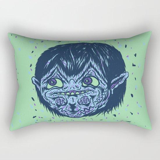 Blue Boy Rectangular Pillow