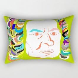 Johann Sebastian Bach Rectangular Pillow