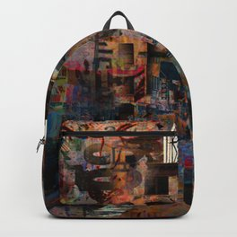 A well protected street Backpack