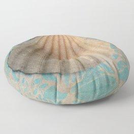 She sells sea shells... Floor Pillow