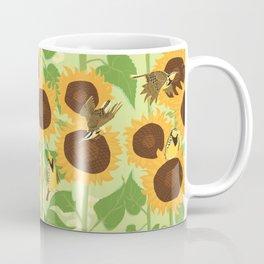 Sunbathing Meadowlarks Coffee Mug