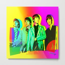 Moptops pOp '68  Metal Print