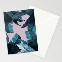 Tropical Palm Print #2 Stationery Cards