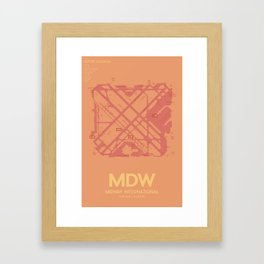 MDW Framed Art Print