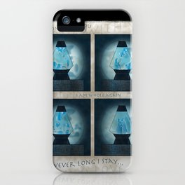 A Moment in Time (Blue) iPhone Case