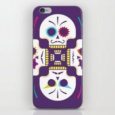 Floración Muerte iPhone & iPod Skin