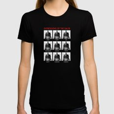 Expressions Of The Dalek Black Womens Fitted Tee MEDIUM