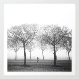 Landscape stories_Plans Art Print