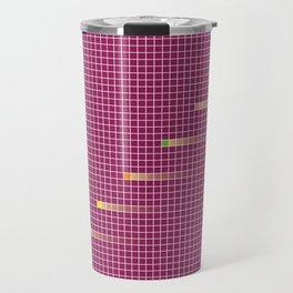 Checked Pattern_G Travel Mug