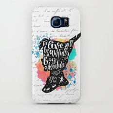 Peter Pan - To Live Galaxy S8 Slim Case