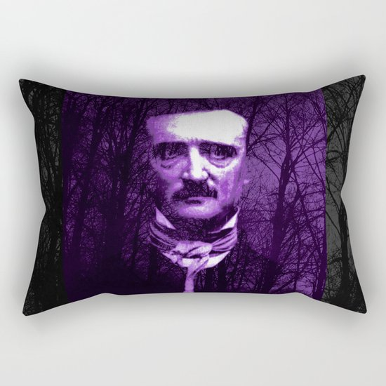 E. A. Poe Rectangular Pillow