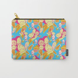 Electric Banana Monkey Carry-All Pouch
