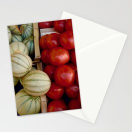 Melons and Tomatoes Stationery Cards