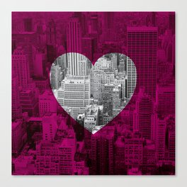 Heart NYC Canvas Print