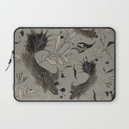 Lost. It's where she feels at ease. Laptop Sleeve