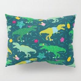 Dinos in Summer Pillow Sham