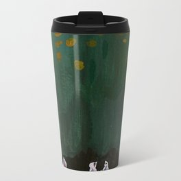 pigs in a forest Metal Travel Mug