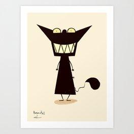 SMILE / Borderline Bill Art Print